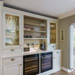 Foxrock in-frame kitchen with custom drinks area